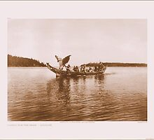 """Coming for the bride"" by Edward S. Curtis (1868 - 1952) by mfloathe"