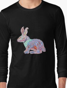 Disgruntled Rabbit Anatomy Long Sleeve T-Shirt