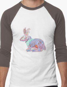 Disgruntled Rabbit Anatomy Men's Baseball ¾ T-Shirt
