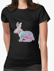 Disgruntled Rabbit Anatomy Womens Fitted T-Shirt