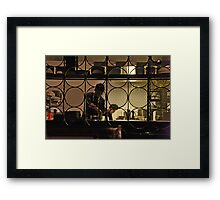 Kitchen Screen Framed Print