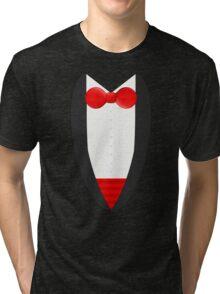 FormalFriday Tuxedo Shirt Tri-blend T-Shirt