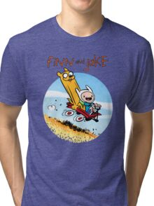 Finn and Jake Tri-blend T-Shirt