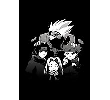 Team 7 Black and White  Photographic Print