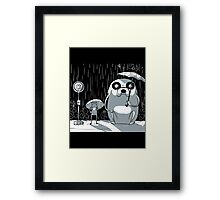 Adventure Time - My neighbor Jake Framed Print