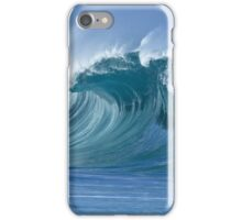 Glassy Wave in Hawaii iPhone Case/Skin