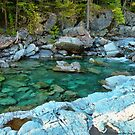MacDonald Creek - Glacier National Park by rocamiadesign