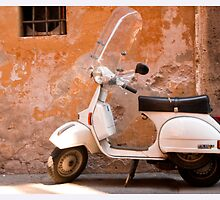 Iconic Vespa by Stephen Knowles