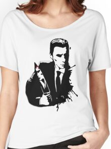 American Psycho Spatter Women's Relaxed Fit T-Shirt