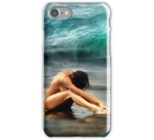 Nude Woman on Beach iPhone Case/Skin