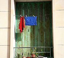 Out to Dry in Marseille France by tamarakenyon