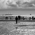 Coastal scene at Crosby by Dave McAleavy