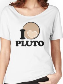 I Heart PLUTO Women's Relaxed Fit T-Shirt