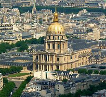 Paris from the top of the Tour Montparnasse by bubblehex08