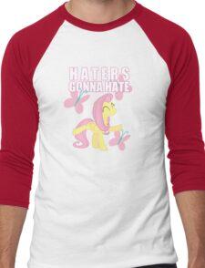 Fluttershy and butterflies Men's Baseball ¾ T-Shirt