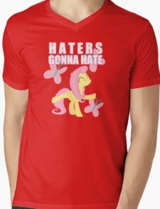 Fluttershy and butterflies Mens V-Neck T-Shirt