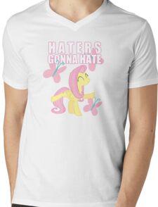 Fluttershy and butterflies Mens V-Neck T-Shirt