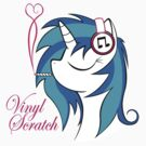 Vinyl Scratch (w/ smoke) by Northern Dash