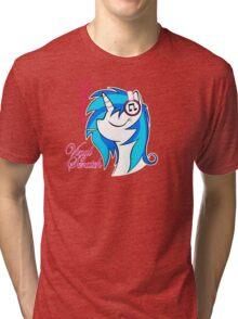 Vinyl Scratch (w/ smoke) Tri-blend T-Shirt