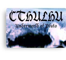 Cthulhu Canvas Print