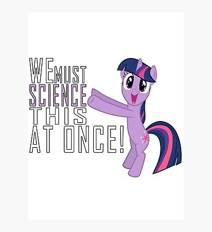 Science - Sticker Photographic Print