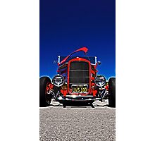Hot Rod Red Photographic Print
