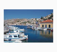 Boats at Yialos, Symi Kids Clothes