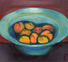 Apricot Bowl by Amy-Elyse Neer
