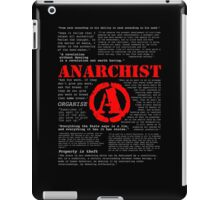 Anarchist Quotes iPad Case/Skin