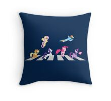 My Little Beatles (revised) Throw Pillow