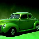 """1940 Ford Coupe """"Lime-Aide"""" by TeeMack"""