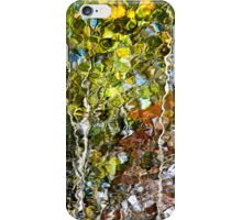 Nature Abstract Tree Reflection iPhone Case/Skin