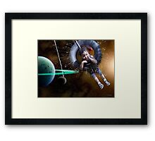 Astro-Projection Framed Print