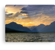 Lake MacDonald Evening Metal Print
