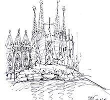 Sagrada Familia by thinkinsomniac