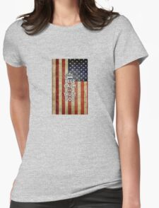 Religious Christian iPhone 4 Case Cover American Flag T-Shirt