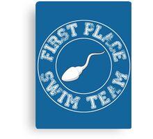 First Place - Swim Team Canvas Print
