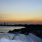 Sunset at the Jetty 3 by Sheryl Unwin