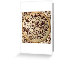 Chocolate Chip Cheesecake Greeting Card