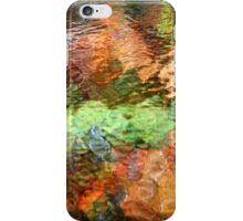 Colorful Nature Abstract Reflection iPhone Case/Skin