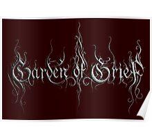Metal 3D Logo Poster