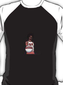 "Julius ""Dr. J"" Erving Philadelphia 76ers Cartoon T-Shirt"