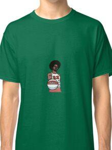 "Julius ""Dr. J"" Erving Philadelphia 76ers Cartoon Classic T-Shirt"