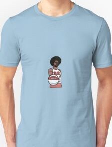 "Julius ""Dr. J"" Erving Philadelphia 76ers Cartoon T-Shirt"