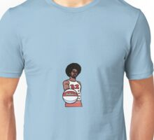 "Julius ""Dr. J"" Erving Philadelphia 76ers Cartoon Unisex T-Shirt"