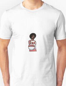 "Julius ""Dr. J"" Erving Philadelphia 76ers Cartoon Unisex T-Shirt"