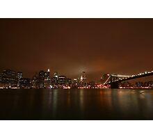 Big Apple Lights Photographic Print