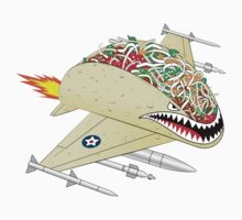 Taco Fighter Jet Kids Clothes
