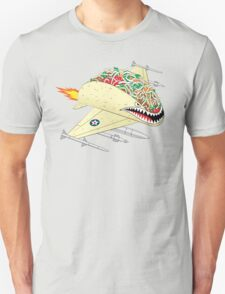 Taco Fighter Jet T-Shirt