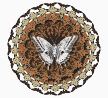 Moth Mandala by Jeff East